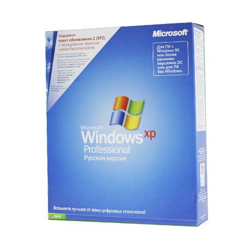 Microsoft Windows XP Professional RU x32