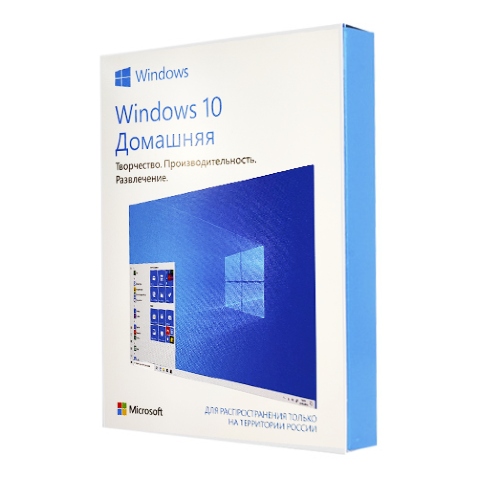 Гарантии на Microsoft Windows 10 Home RU x32/x64