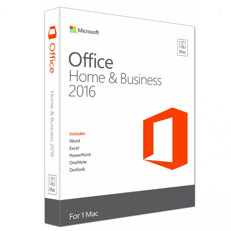 Microsoft Office 2016 Home and Business Mac