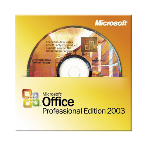 Microsoft Office 2003 Professional OEM