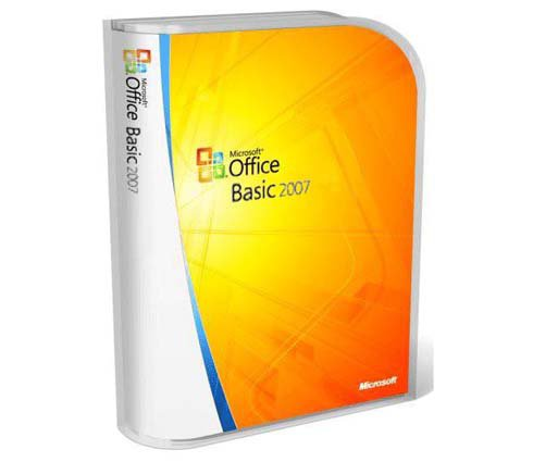 Microsoft Office 2007 Basic RU