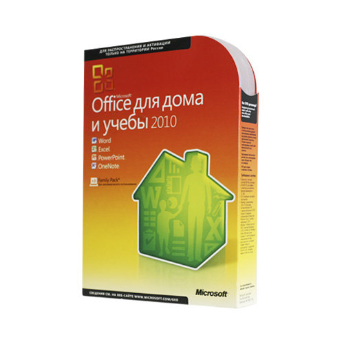 Microsoft Office 2010 Home and Student RU x32/x64