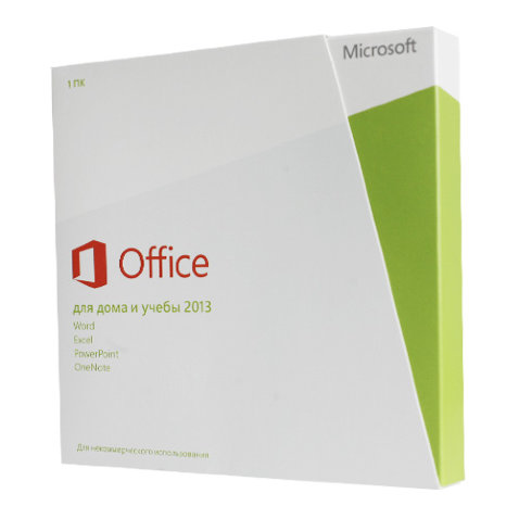 Microsoft Office 2013 Home and Student RU x32/x64